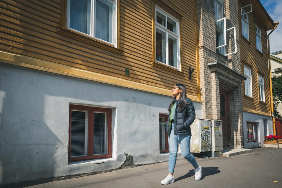 Telliskivi District in Tallinn