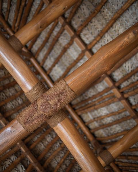 Roof Inside Navutu Stars Bure