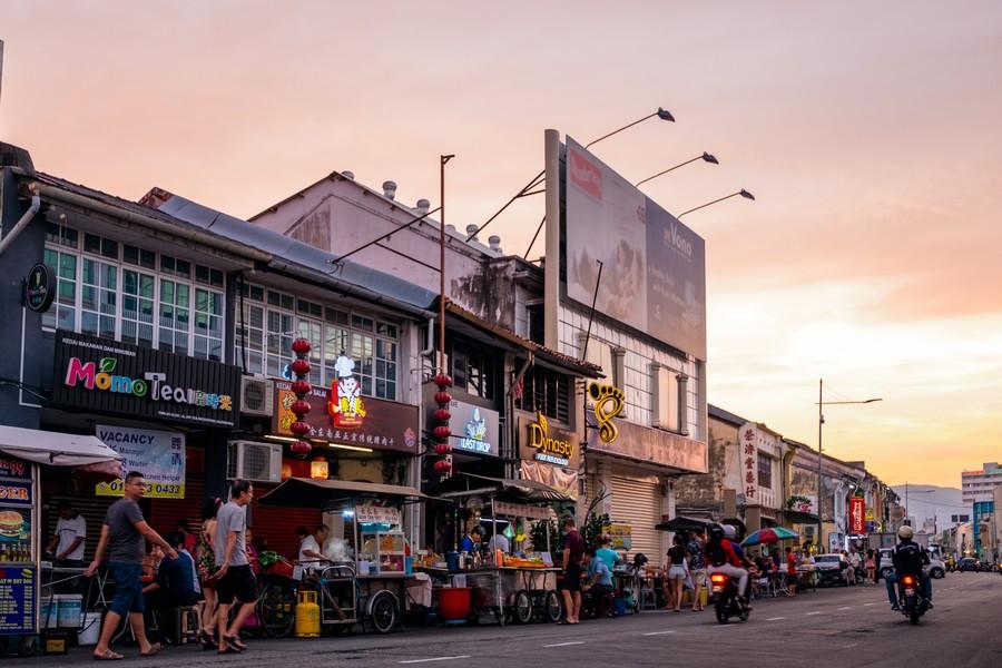 Chulia Street Hawker Centre, Penang
